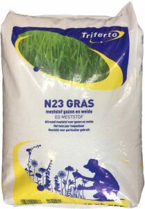 Kunstmest N23 Gras - meststof voor grasland en gazon 20kg