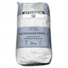 Kalkhydraat - gebluste kalk voor stalhygiëne 25kg